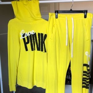 Pink! Pullover Sweater